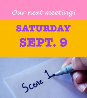Our Next Meeting Sat Sept 9